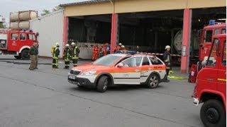 preview picture of video 'Feuerwehreinsatz in Eiselfing Verletzter versorgt'
