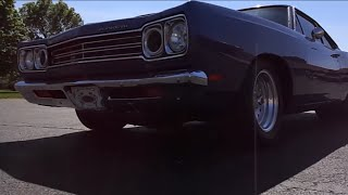 """Aerosmith Road Runner, Melissa and the """"White Knuckle Tight"""" '69 Road Runner"""