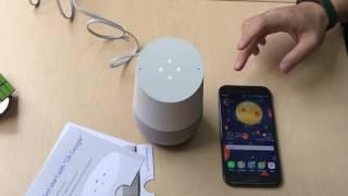 Google Home: Unboxing y primeros pasos en español.