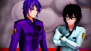 【MMD x FNaF】I LUV IT (Purple Guy x Phone Guy) [60 FPS]
