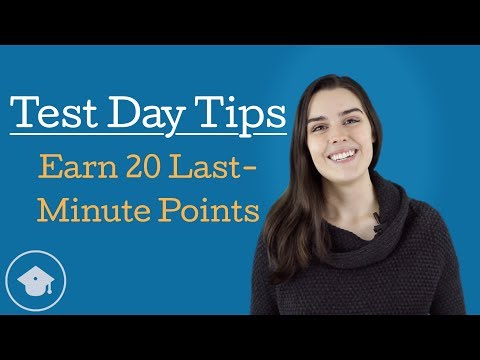 Earn 20 Easy Points With These Last Minute GMAT Test Day Tips