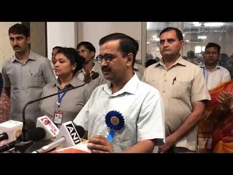 """मुख्यमंत्री Arvind Kejriwal ने """"प्रज्ञ से महा प्रज्ञ"""" पुस्तक लोकार्पण समारोह में हिस्सा लिया"""