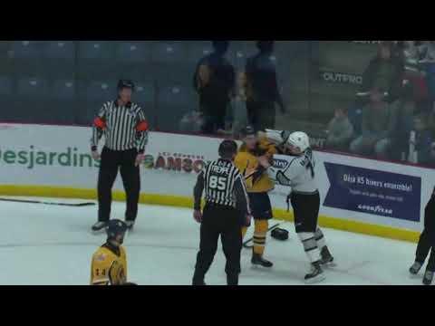 Jordan Lepage vs. Carson MacKinnon