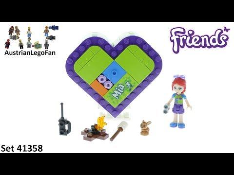 Vidéo LEGO Friends 41358 : La boîte cœur de Mia
