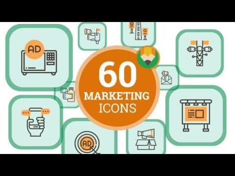 mp4 Digital Marketing Icon Vector, download Digital Marketing Icon Vector video klip Digital Marketing Icon Vector
