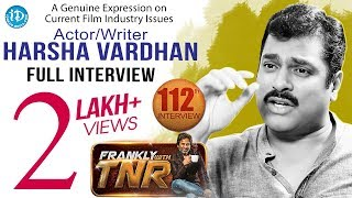Frankly With TNR  With Harsha Vardhan