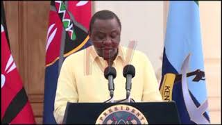 President Uhuru Kenyatta has announced a new raft of measures aimed