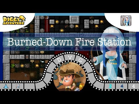 [~Skadi~] #4 Burned Down Fire Station - Diggy's Adventure