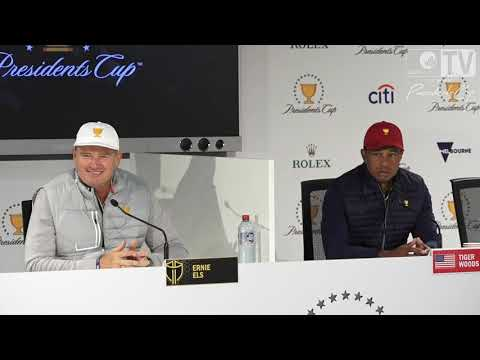 Tiger Woods and Ernie Els on the Patrick Reed rules saga ahead of the 2019 Presidents Cup