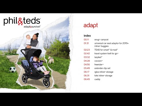 Phil & Teds Universal-Autositzadapter