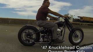 preview picture of video '47 Knucklehead Custom - Owner: Peter Kida'