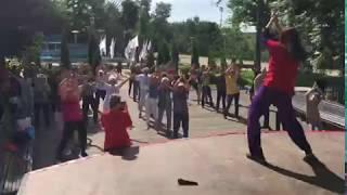 """""""Спортивные выходные"""", Майкоп, 2018 (видеограф: ОНФ в РА)"""