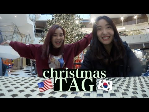 The Christmas Tag: Difference Between USA & Korea | #Vlogmas Day¹⁵