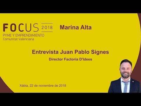 Entrevista Juan Pablo Signes, de Activa't en Focus Pyme Marina Alta[;;;][;;;]