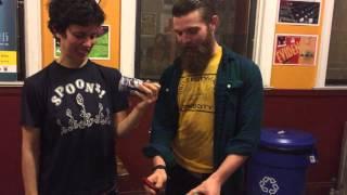 Jacob Teaches Ida How to Shotgun a Beer