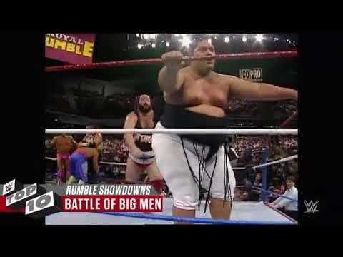 Wildest Royal Rumble Match showdowns  WWE Top 10, Jan  13, 2WWF (видео)
