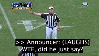 """17 SHOCKING NFL Referee """"Hot Mic'd"""" Moments YOU WEREN'T SUPPOSED TO HEAR!"""
