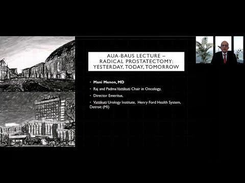 Radical Prostatectomy: Radical Prostatectomy: Yesterday, Today, Tomorrow