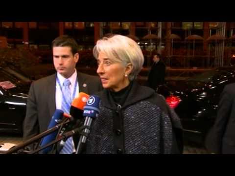 Ανοικτό αφήνει το ενδεχόμενο εξόδου της Ελλάδας από το μνημόνιο, η Κριστίν Λαγκάρντ