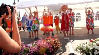Matroschka Tanz - Auftritt Holzhauser Markt Juli 2013