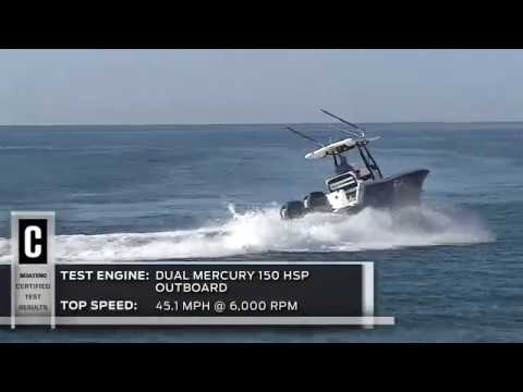 Blackfin 242 CC video