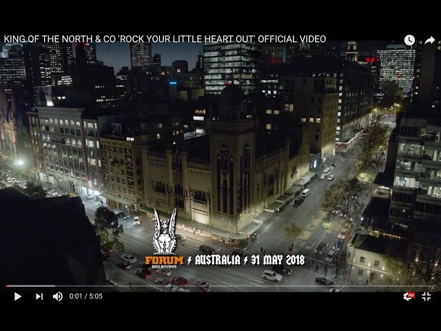 King Of The North Co Rock Your Little Heart Out Official Video