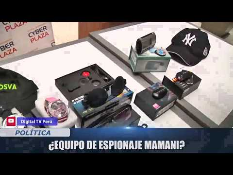 ¿EQUIPO DE ESPIONAJE MAMANI?(