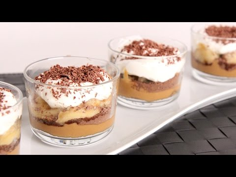 Banoffee Parfaits Recipe – Laura Vitale – Laura in the Kitchen Episode 988