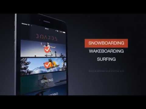 Boards – extreme sports app