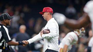 San Francisco 49ers' Coach Kyle Shanahan on 11-2 season