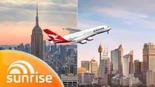 Kochie's non-stop flight from New York to Sydney | Sunrise