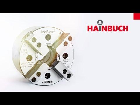 HAINBUCH InoFlex VT-S Ausgleichendes 4-Backenfutter | Concentric and compensating 4-jaw chuck