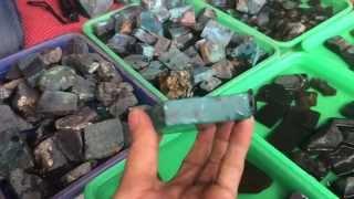 koleksi Bahan Batu Bacan Lengkap