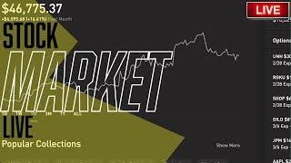 OPEC+ MEETING TODAY – Live Trading, Robinhood Options, Stock Picks, Day Trading & STOCK MARKET NEWS