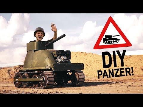 BADEWANNEN PANZERUNG für unseren Bollerwagen - PANZER! #2