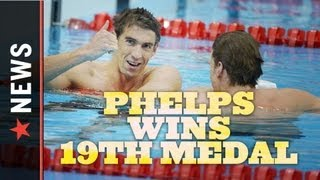 Olympic Swimming Finals: Michael Phelps Sets Olympic Record with 19 Medals thumbnail