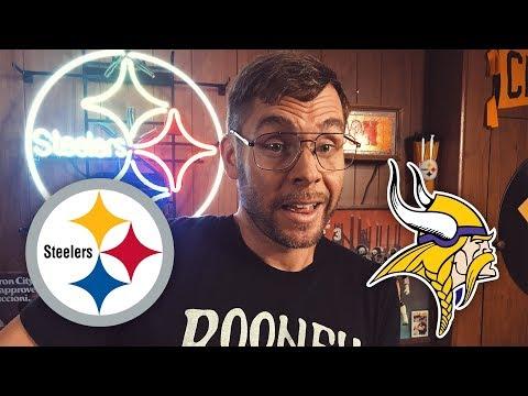 Dad Reacts to Steelers vs Vikings (Week 2)