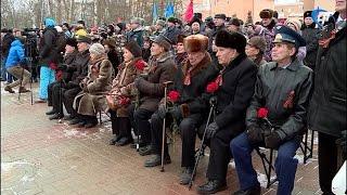 В Великом Новгороде прошли торжественные мероприятия, посвященные Дню защитника Отечества