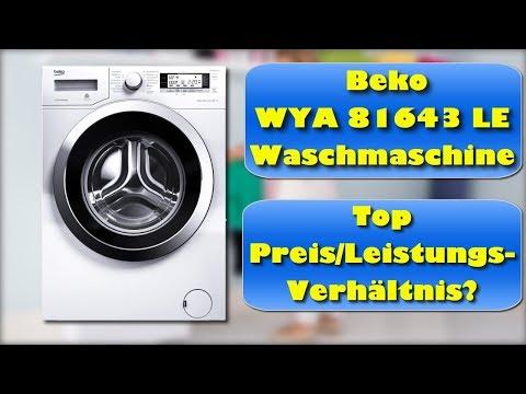 Beko WYA 81643 LE Waschmaschine Test - Beko Waschmaschine kaufen oder nicht?