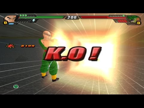 Tienshinhan's Ultimate blast can KO any character in one hit (DBZ Tenkaichi 3 Tips & Tricks)