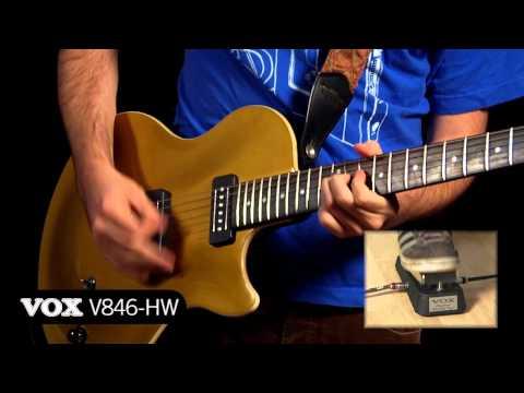 VOX V845 Wah Wah pedál