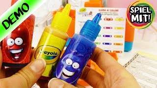 CRAYOLA Marker Maker   Duftende Marker selber machen - Filzstifte mit fruchtigem Duft   Experiment
