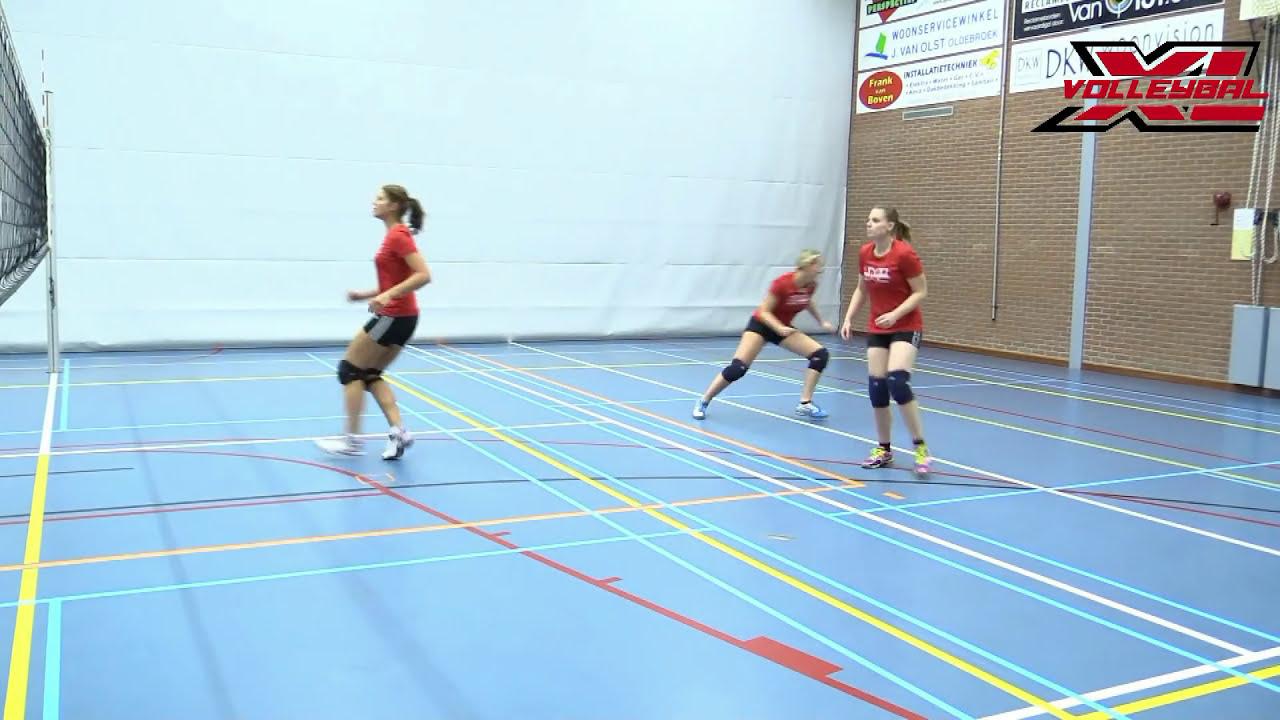 Vaak Warming-up volleybal? Bekijk oefeningen op beeld! @VF74