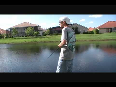 Bass Fishing ponds in West Palm Florida