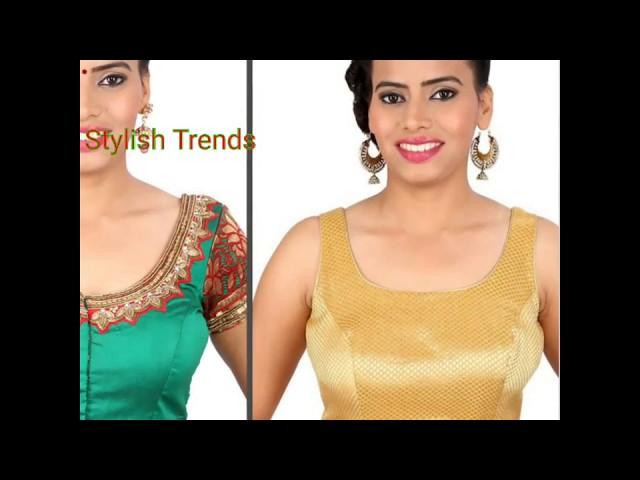 #5 Neck line design models for Blouse | Dress | Churidar | Tops | Gowns