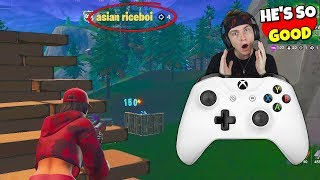 i spectated this random amazing controller player after i died... (so good)