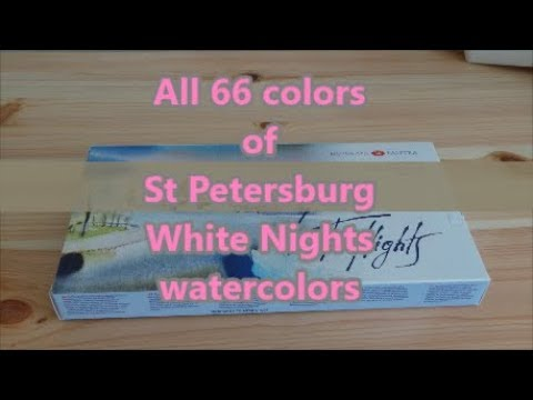 All 66 colors of St Petersburg \