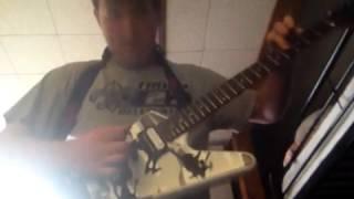 Acid bath: the morticians flame (guitar cover)