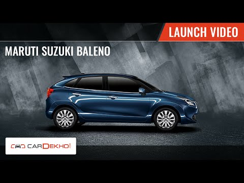 2015 Maruti Suzuki Baleno | Launch Video | CarDekho.com