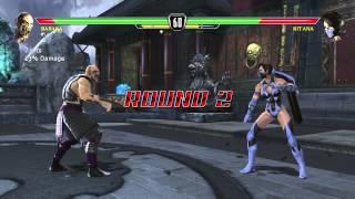Mortal Kombat Vs DC Universe Playthrough_Baraka